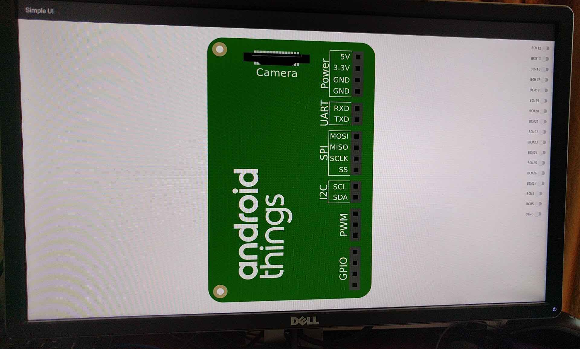 AndroidThings Demo Preview
