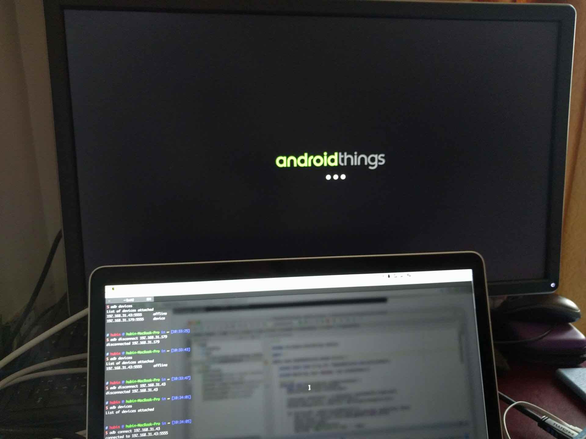 AndroidThings 启动页面