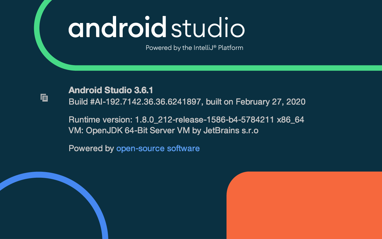 Android Studio 3.6.1